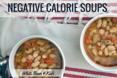Negative Calorie Soup ... OMG the 3rd one is SO yummy! Huge hit at our house!!!