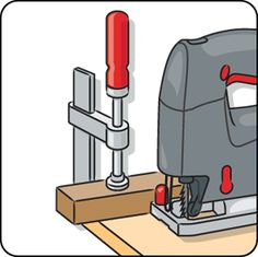 Hang your circular saw in a tool cabinet and spray the blade with oven cleaner. After 20 minutes you can wipe the dirt and wood resin off effortlessly. Then dry and cover with Vaseline. Woodworking Images, Woodworking Jigsaw, Woodworking Tips, Jigsaw Saw, Best Jigsaw, Serra Circular, Circular Saw, Tap Washers, Tool Bench