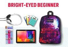 I'm the bright-eyed beginner! What does your #BackToSchool gear say about you? #NewGearFeeling  http://www.newgearfeeling.com/?personality=2&channel=twitter