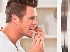 Look at flossing like a workout for the gums. The more you do it the healthier and firmer the gums will be.