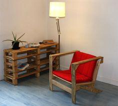 DIY: Ein Sessel aus Paletten von Pierre Vedel