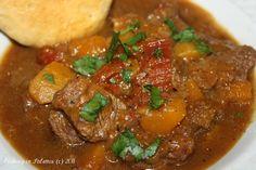 Beef and Butternut Squash Stew  http://cookinginstilettos.com/beef-and-butternut-squash-stew/  #Stew #Beef #ButternutSquash