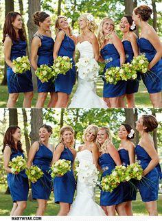 Toledo Ohio Modern White Blue Green Toledo Country Club wedding  by Mary Wyar Photography MaryWyar.com