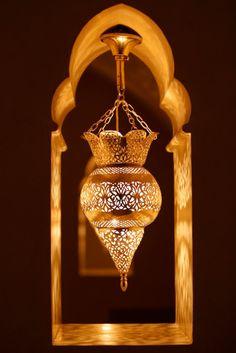 Lampara árabe