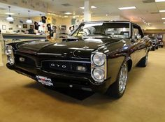 1967 Pontiac GTO. Monsta ride!