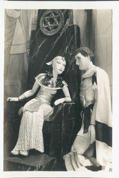 Cleopatra & Mark Anthony by Martin & Olga Stevens, c 1940s