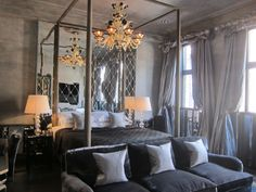 Truly, madly, deeply in love with Blakes Hotel in London.  A sneak peak at their just renovated suite.