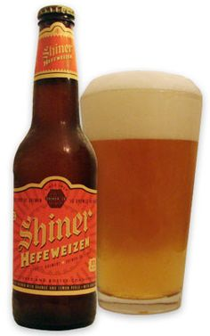 Shiner Hefeweizen - really liking this beer