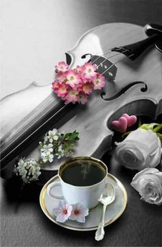 Loving Coffee and Music Brown Coffee, I Love Coffee, Coffee Break, My Coffee, Morning Coffee, Chocolates, Tea Sandwiches, Coffee Cafe, Simple Pleasures