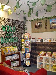 Clutter-Free Classroom: Jungle / Safari Themed Classroom {Ideas, Photos, Tips, and More}
