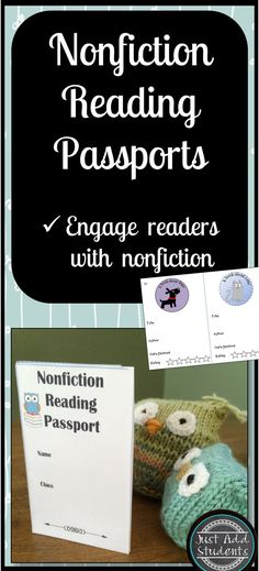 Motivate your students to take a nonfiction reading journey by using a reading passport.  Easy to put together and fun to use.  Gives students 18 choices for informational texts they can read.  Great for fast finishers, gifted and talented, literacy centers, and building background knowledge.  Tap into your students' natural curiosity and get them hooked on nonfiction!