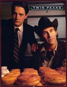 Coop & Sheriff Truman, best buds