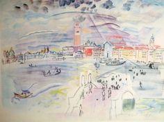 Raoul Dufy - Venise