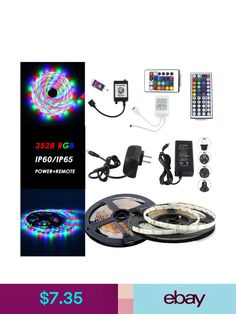 Bicycle lights ebay sporting goods newyorkn led light strips ebay home garden mozeypictures Images