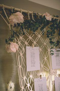 Table Plan | White by Vera Wang | Royal Berkshire Hotel | Groom In Kilt | Story & Colour Photography | http://www.rockmywedding.co.uk/lily-ewan/
