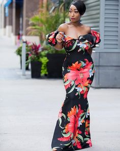 """4,071 Likes, 164 Comments - Chic Ama (@chicamastyle) on Instagram: """"#monday chilling at home... splurge on this gorgeous dress from @slaytique. Use 4thweekend20…"""""""