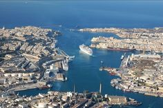 Valletta Grand Harbour, Malta. An amazing harbour & has to be seen to appreciate how BIG it is. We took the harbour boat tour...well worth it.