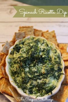 Check out this great Spinach Ricotta Dip recipe. It's a great example of leftovers turned to meal!