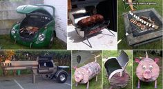 10 Cool and Creative BBQ Grills