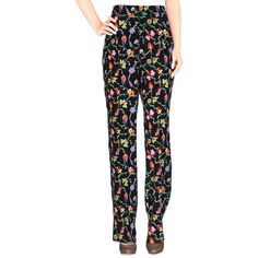 STYLISH NEW EMILIO PUCCI PRINTED SILK TROUSERS PRESELECTED COUTURE (£190) via Polyvore featuring emilio pucci