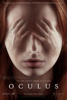 Oculus poster exclusive watermarked Oculus Poster Premiere Sees What It Wants You To See! (Exclusive) #KarenGillan