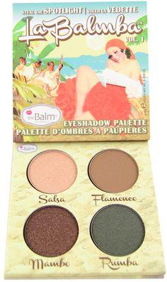 The Balm La Balmba Eyeshadow Palette Volume 1