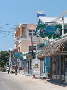 San Pedro, Ambergris Caye, Belize AKA Where I caught the traveling bug in 2001