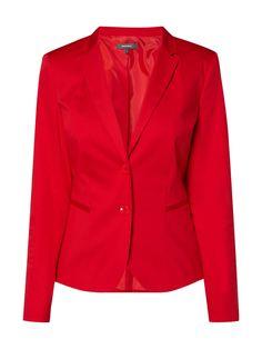 Bei ➧ P&C Business-blazer von MONTEGO ✓ Jetzt MONTEGO Blazer mit Paspeltaschen in Rot online kaufen ✓ 9771428