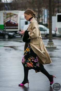 Paris Fashion Week Fall 2017 Street Style: Claire Beermann