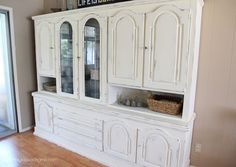 Chalk Painted Hutch - Yellow Bliss Road