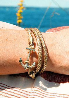 Anchor Bracelet - Royal's Golden Fleet - by Kiel James Patrick