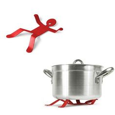 Man On Back Pot & Pan Coaster | GEEKYGET