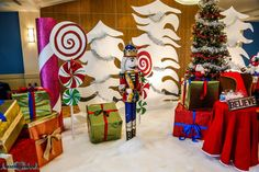Pics with Santa - A Set Design - Santa Grotto - North Pole