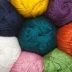 Mighty Stitch Yarn...Fiber Flux french vanilla button cowl