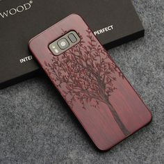 US $6.99 - 8.99  For Samsung Galaxy S8 S8 Plus Case Real Wood Grain Back Cover Laser Graving Coque For Samsung S8 Case High Quality Shockproof FREE SHIPPING #woodcases #Diy #Design #ideas #iphonecases #samsungcase #handmade