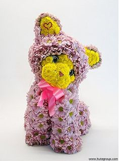 Teddy Bear with Flowers Image | Teddy bear flowers are cute and artistic arrangement. If you all feel ...