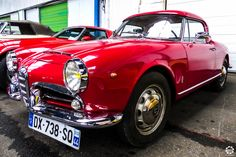 #Alfa_Romeo #Giulietta au rassemblement Mensuel de Nantes. Reportage : http://newsdanciennes.com/2016/01/24/retour-au-rassemblement-mensuel-de-nantes/ #Voiture #Ancienne #Vintage #VintageCar