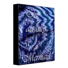 I´m Actually A Mermaid 3 Ring Binder Mermaid Quotes, Mermaid Art, Fantasy Mermaids, Deep Art, Custom Beach Towels, Butterfly Art, Art Quotes, Quote Art, Custom Posters