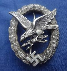 Luftwaffe Radio Operator-Air Gunner's Badge by C. Juncker Berlin S.