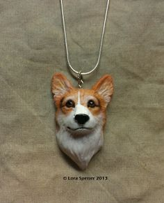 Custom Sculpture Cat or Dog Necklace Pendant Portrait of YOUR Pet! Solid Sterling Silver Chain and Bail.  by SpeiserStudio, $68.00