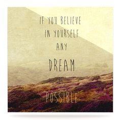 """East Urban Home Desert Quote 'Believe' Textual Art on Metal Size: 10"""" H x 10"""" W x 1"""" D"""