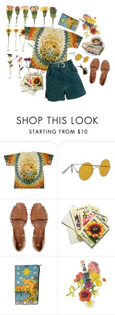 """""""sitting in a rainbow"""" by queercorruption ❤ liked on Polyvore featuring ...Lost, ASOS, Beekman 1802 and Clare Celeste"""