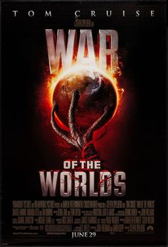 War of the Worlds - 2005 - style A - movie poster - Fine (7.0)