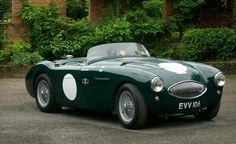 The ultimate, Austin Healey 100 S, in 1956 this car won the sports car race at the Aintree 200 .