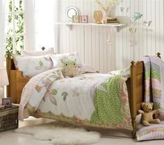 Girls Bedroom Ideas featuring Owl Bedding Sets Picture