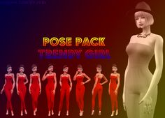 Sims 4 CC's - The Best: Poses by Angissi