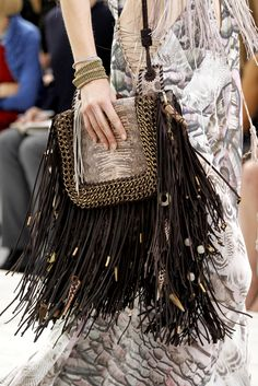 We're inspired by patterned boho bags with fringe details! With this statement piece, you can keep the rest of your outfit simple with jeans and a tee or a solid dress.