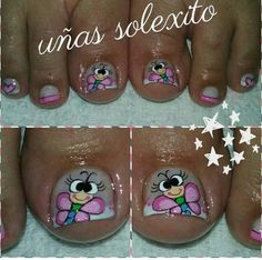 Toe Nails, Nail Designs, Nail Art, Pedicures, Beauty, Ideas, Work Nails, Toenails Painted, Pretty Toe Nails