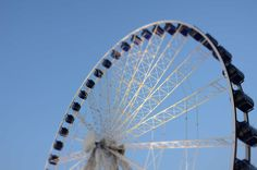 Observation wheel - Gdańsk, August 2014