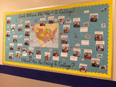 Encourage your students to go to college by seeing where EVERY staff member went. Include office and custodial staff :)